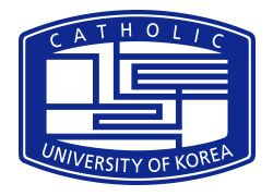 THE CATHOLIC UNIVERSITY OF KOREA