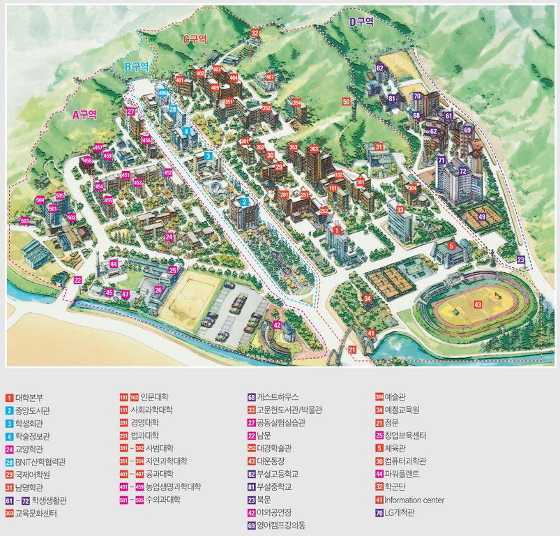 Mass Maritime Campus Map.Study In Korea Run By Korea Government