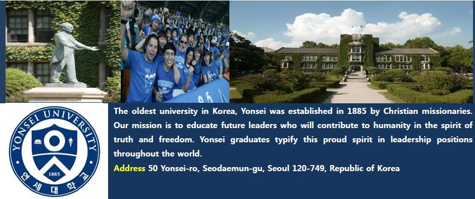 Yonsei university?????????????????????